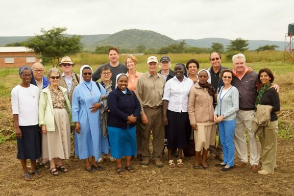 Our delegation with the Holy Rosary Sisters in Chipapa, Zambia