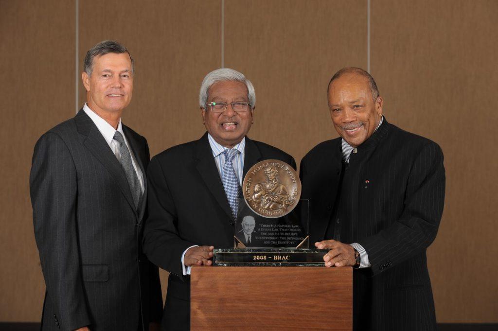 Image of 2008 Hilton Humanitarian Prize winner BRAC