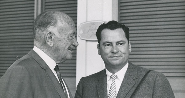 Conrad and Barron Hilton