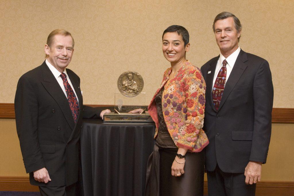 Image of 2006 Hilton Humanitarian Prize winner Women for Women International