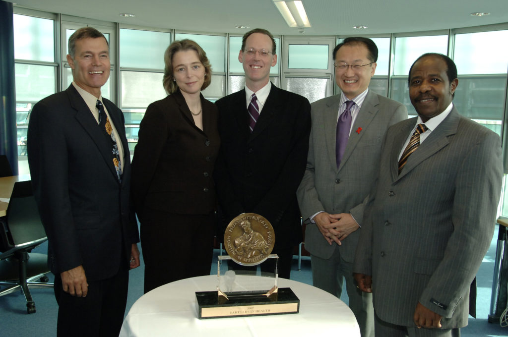 Image of 2005 Hilton Humanitarian Prize winner Partners In Health