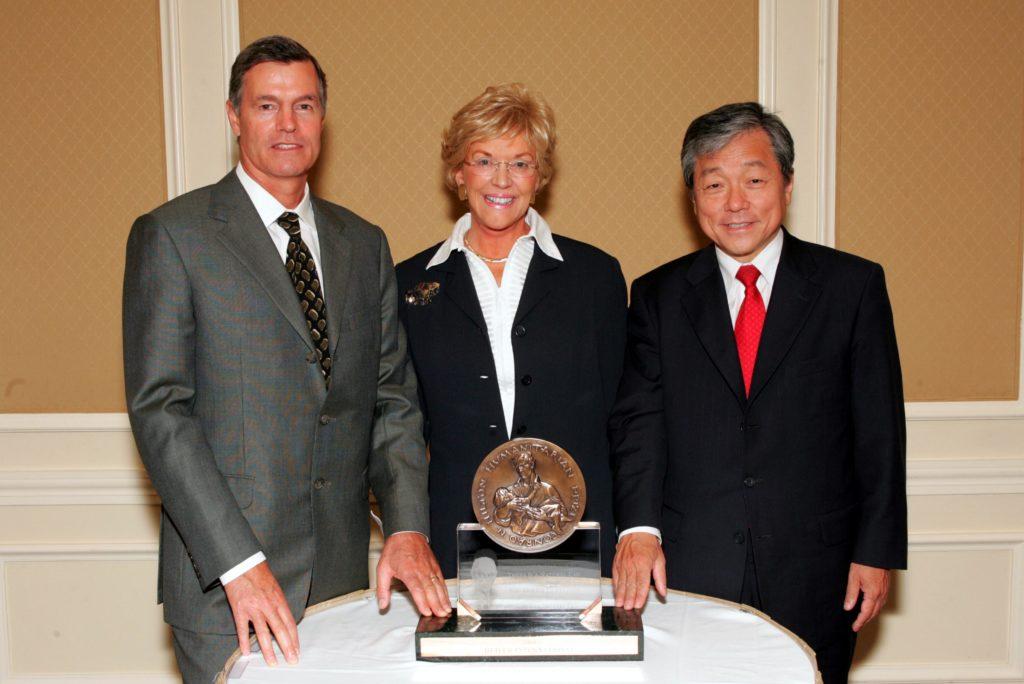 Image of 2004 Hilton Humanitarian Prize winner Heifer International