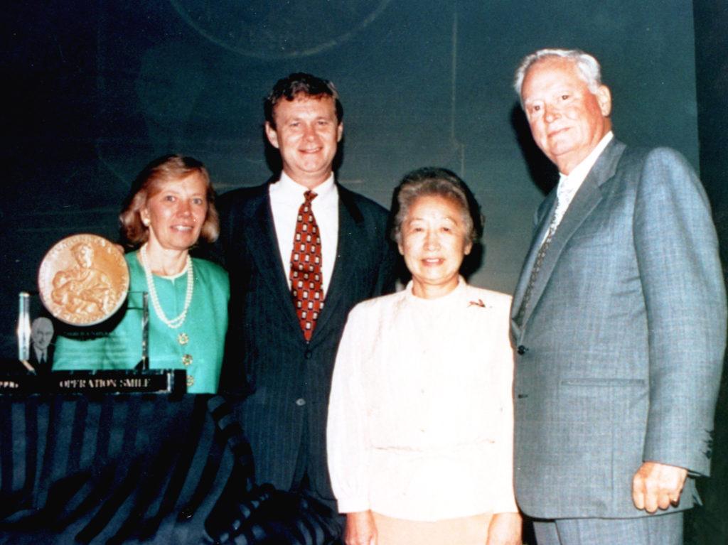 Image of 1996 Hilton Humanitarian Prize winner Operation Smile