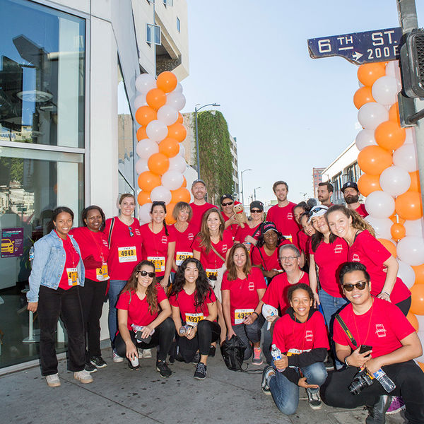 Hilton Foundation staff at Star Apartments